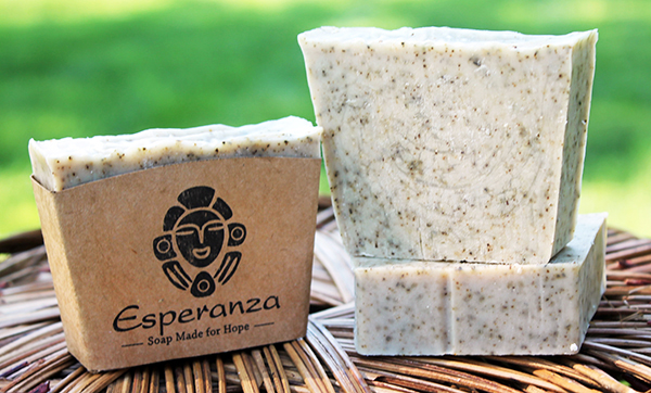 Rosemary Soap - Crushed rosemary for mild exfoliation; essential oils of Cedar and Eucalyptus.  Made in the US & DR.
