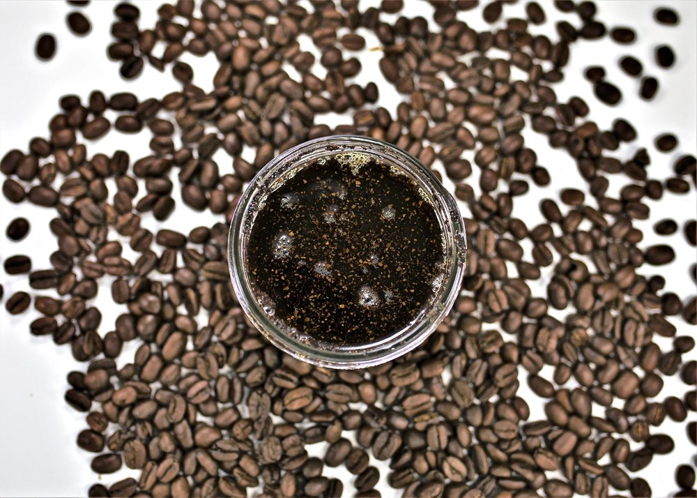 Our coffee and sugar scrubs clean the body naturally, without chemicals or artificial additives.