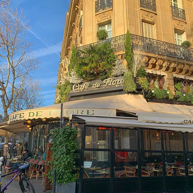 Good morning Paris... you're gorgeous 💕 @lecafedeflore #twonightsinparis #twonightsinfrance #TNIparis #TNIfrance #cafedeflore