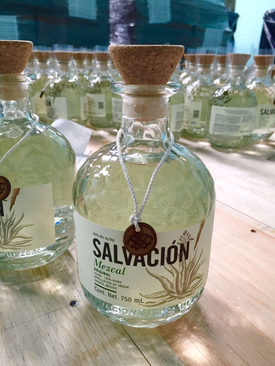 salvacion bottle all ready to go.JPG
