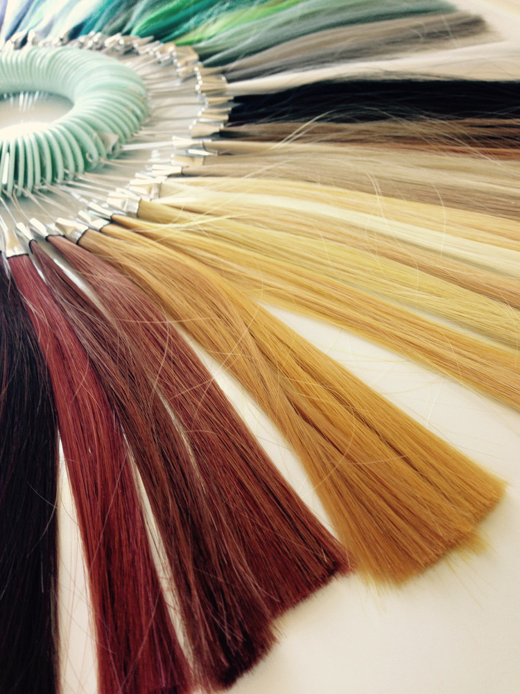 2d3dez Hair Color Wheel Hair Swatch With Guide Fashion Stylist