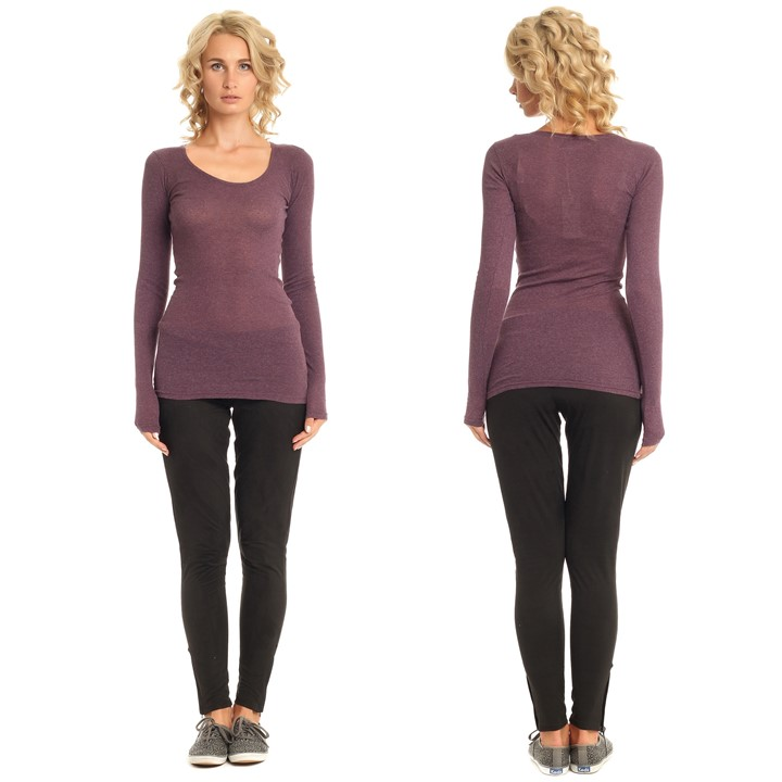 Triangle Body Shape Front and Back View