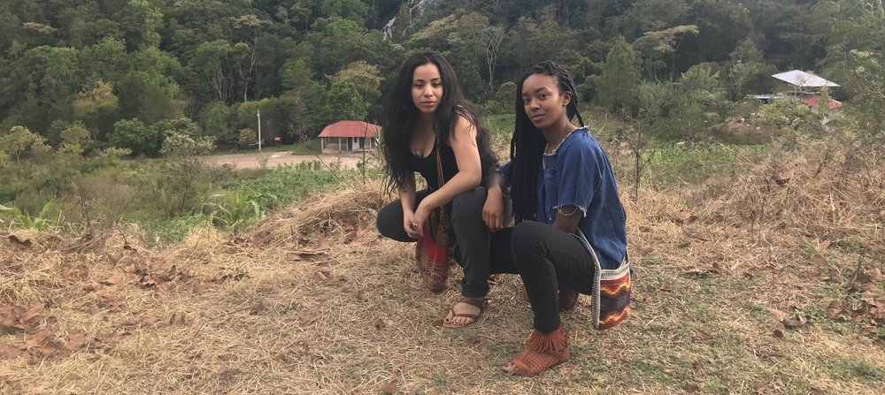 Florcy (left) and Cheyenne (right). Photo courtesy of Women of Color in Solidarity.