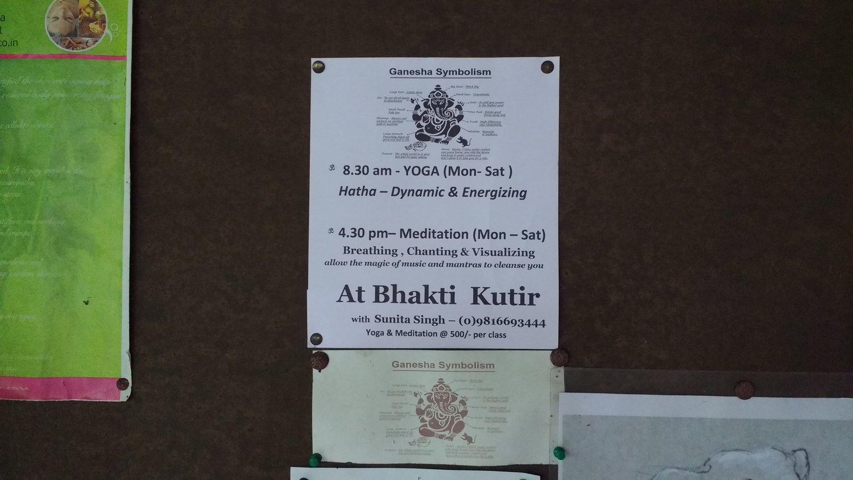Meditation (Monday to Saturday, every week) — Bhakti Kutir