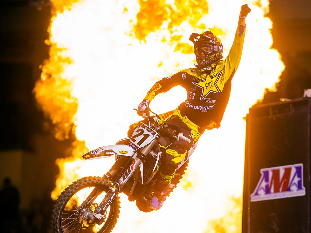 Jason Anderson wins the overall
