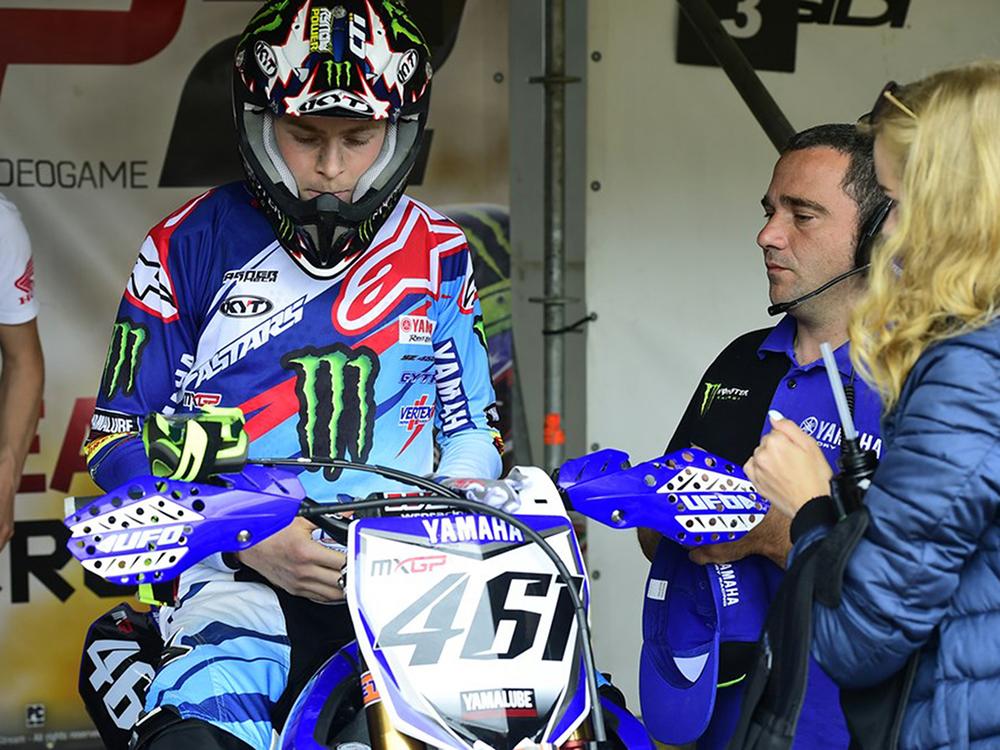 Romain Febvre, Yamaha Racing