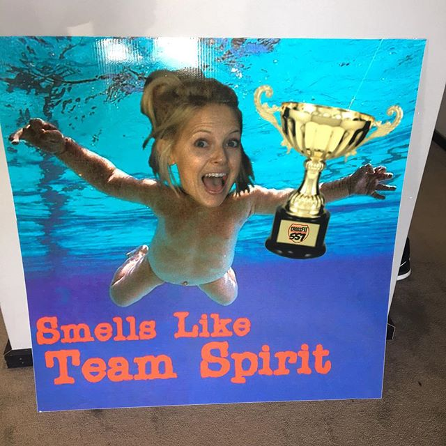 NEW WINNER!!!! Congratulations to Smells Like Team Spirit 2.0 on your 2018 Intramural Open win at CrossFit 557. Your team and all of its members will be added to the intramural champion board! @keelylawler  Team Members of Smells Like Team Spirit 2.0!  Keely Lawler Jennifer Zietler  Adam Trelow Jordan Sweet  Brandy Hodges  Jeff Fiudo Ben Stephens Mike Clark  Alan Knabe  Craig Knabe Edwin Smith Alyssa Patterson Mary Stroud Danielle Matysik Traci Poore Mike Throm Carol Sparks Lori Hamilton  Amy Welch Josh Jenkins Krista Findlay  Kelsey Perkins Ashlee Busclas