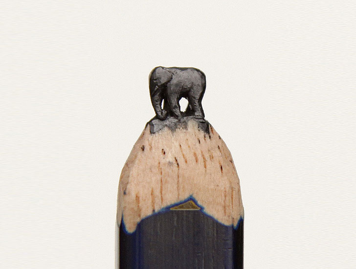 Beau. Original. Touchant. [La mine de crayon] http://www.stumbleupon.com/su/20g8N8/inhabitat.com/diem-chau-transforms-pencils-into-tiny-intricate-sculptures-of-wildlife/