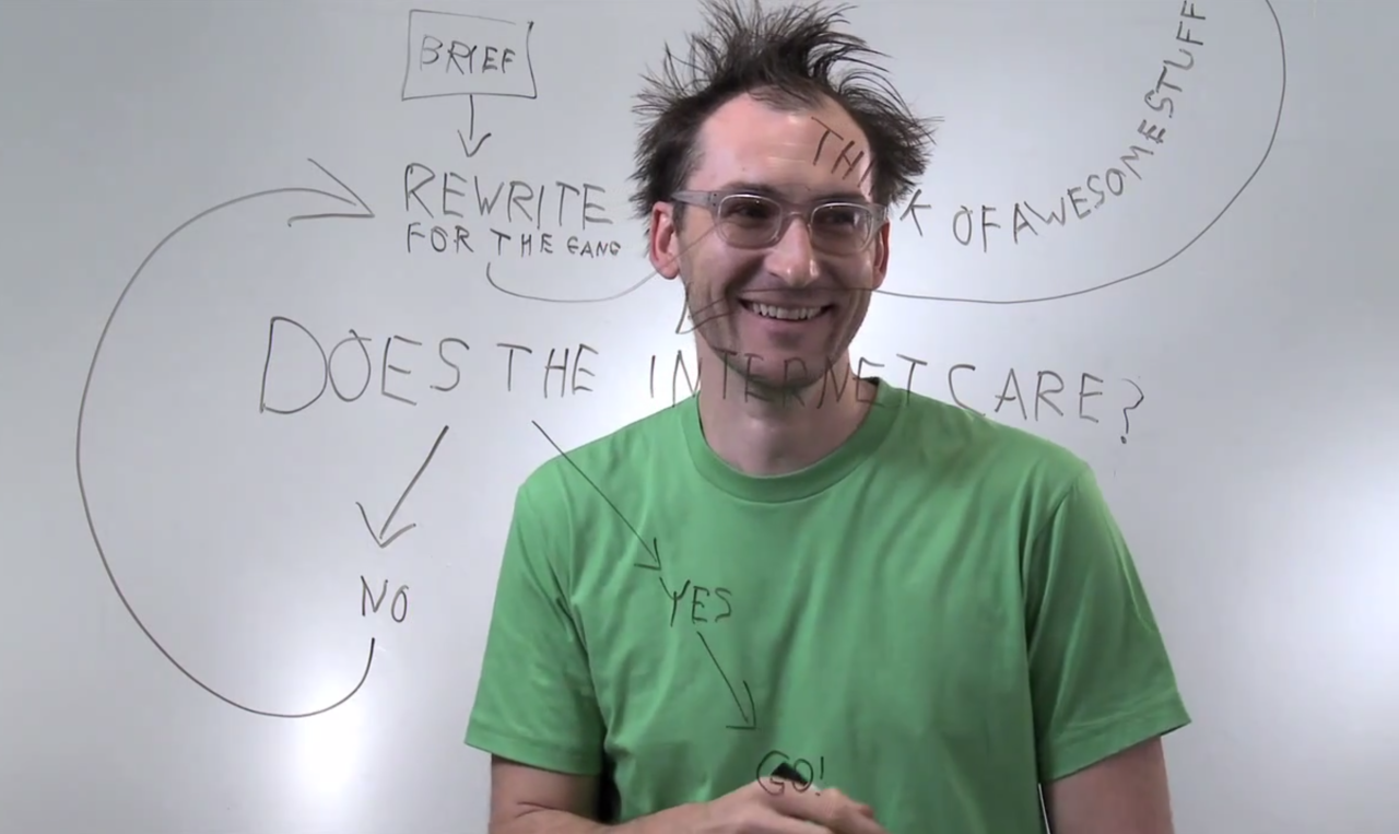 J'aime les frameworks hyper simple.