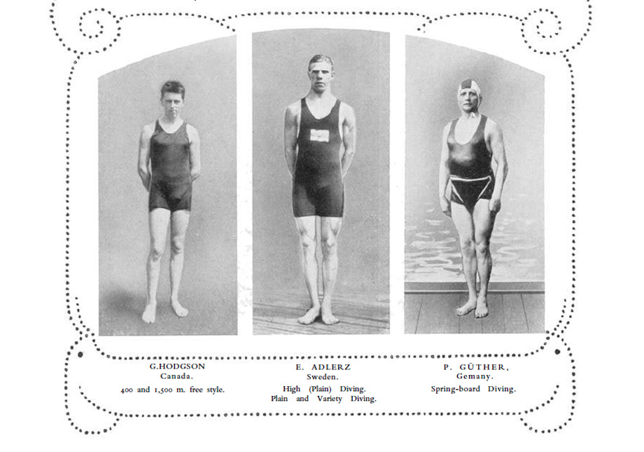 explore-blog :     What Olympians looked like 100 years ago –  photos  from the 1912 Stockholm Olympics.