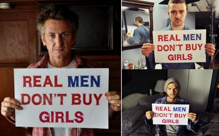 Le sexe contre de l'argent, c'est pas pour les vrais hommes. #saymal #campagnecom