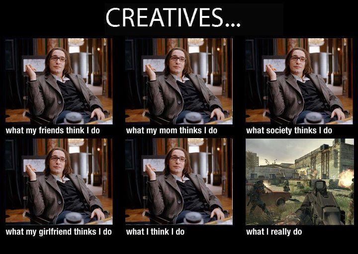 Creatifs : ce qu'on en pense, ce qu'ils font vraiment.