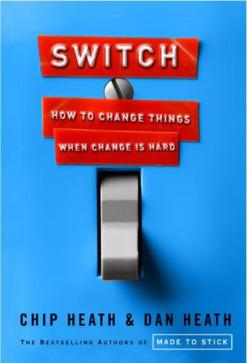 Vous n'avez pas lu SWITCH, le livre du changement ? Hop la lecture résumée, avec tous les ingrédients des frères Heath.