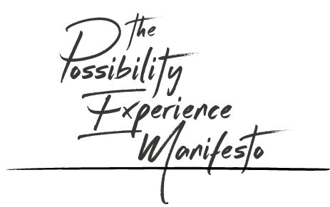 The Possibility Experience Manifesto - Title