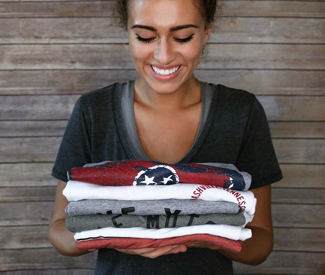 There's nothing easier than throwing on a T-shirt and jeans.. that's what makes these @project615 tees a necessity for your wardrobe! Stop by and see the cute designs 😍