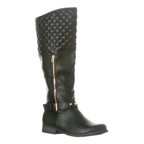 Riverberry Women\'s \'Ava\' Quilted Knee-High Studded Riding Boot ...