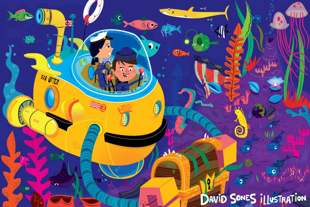 <h5>Undersea Adventure!</h5>