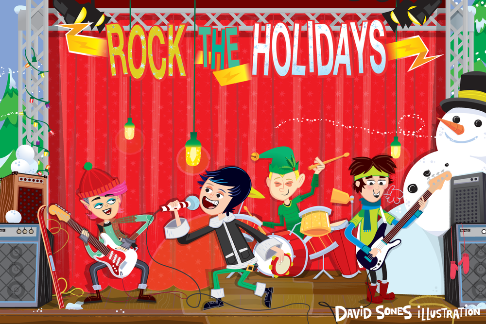 <h5>Rock the Holidays</h5>