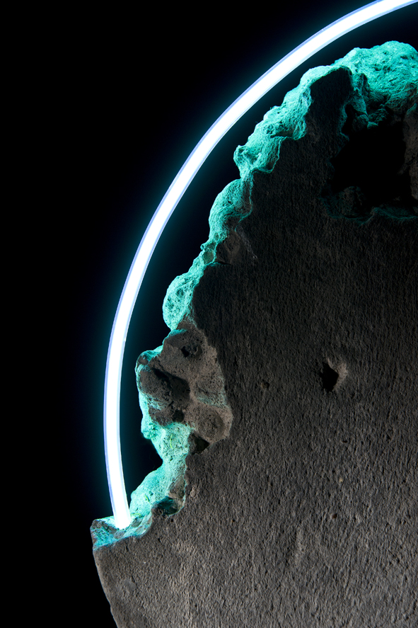 Luna Fossil III, detail