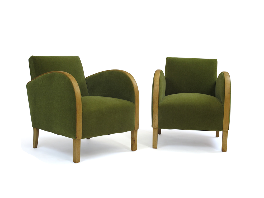 Swedish deco lounge chairs antiques modern - Deco lounge eetkamer modern ...