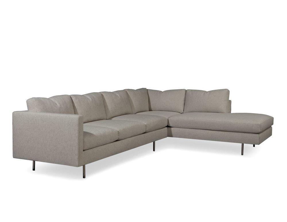 Design Classic 855 Sectional Sofa By Milo Baughman