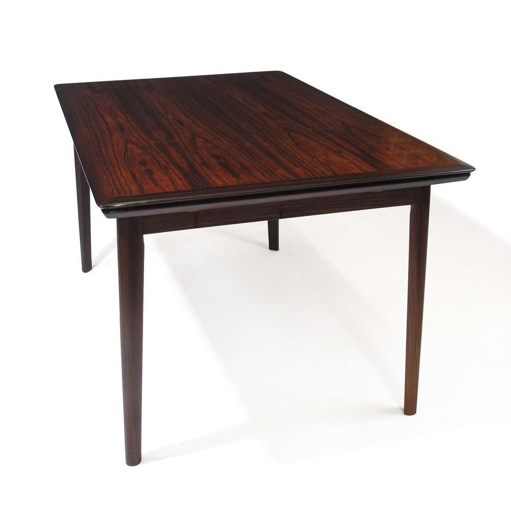 Delightful Danish Brazilian Rosewood Dining Table By HP Hansen 1 ...