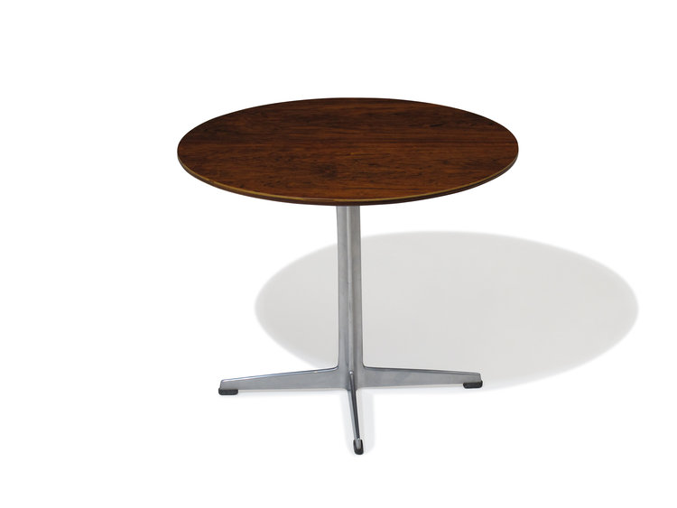 Arne Jacobsen For Fritz Hansen Rosewood Side Table Chris Howard