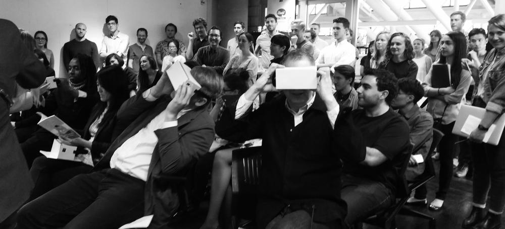 Harvard Graduate School of Design Thesis Presentation, Spring 2015