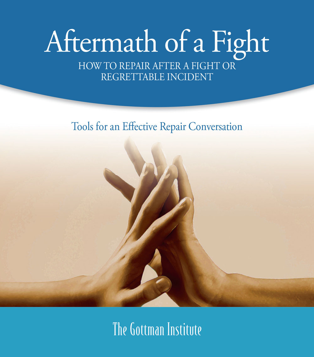 Aftermath of a Fight - How to heal and make repairs in your relationship after a fight or regrettable incident. Click on image for PDF.