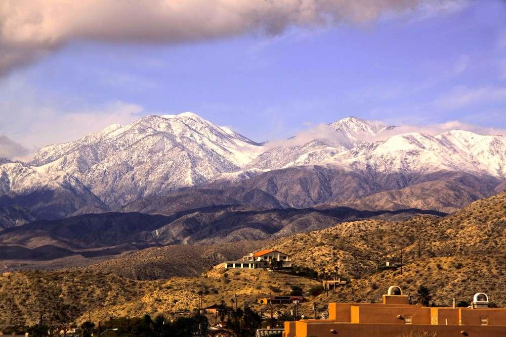 View Over Desert Hot Springs onto San Bernardino Mountains   ©Joanne DiBona