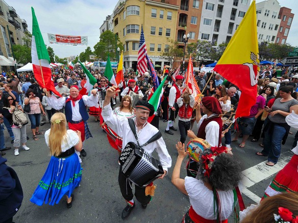 Little Italy San Diego----Sicilian Festival