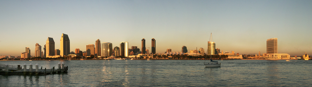 San Diego California Skyline © Joanne DiBona