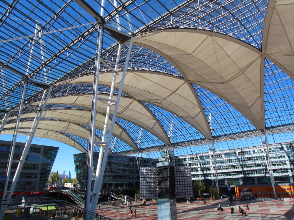 Munich International Airport, Europe's only 5 Star airport!