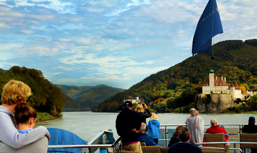 Wachau Valley, Austria, on board the AmaCerto © Joanne DiBona Photography