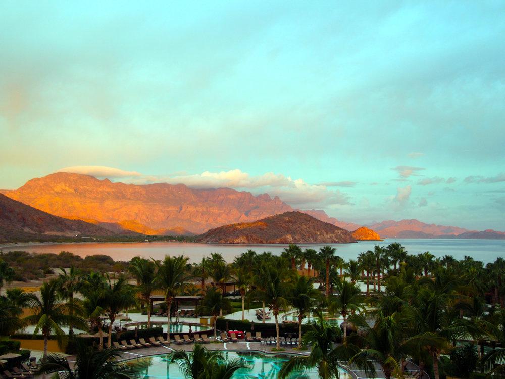 Sunrise over Danzante Bay, Loreto Mexico © Tony DiBona Photography