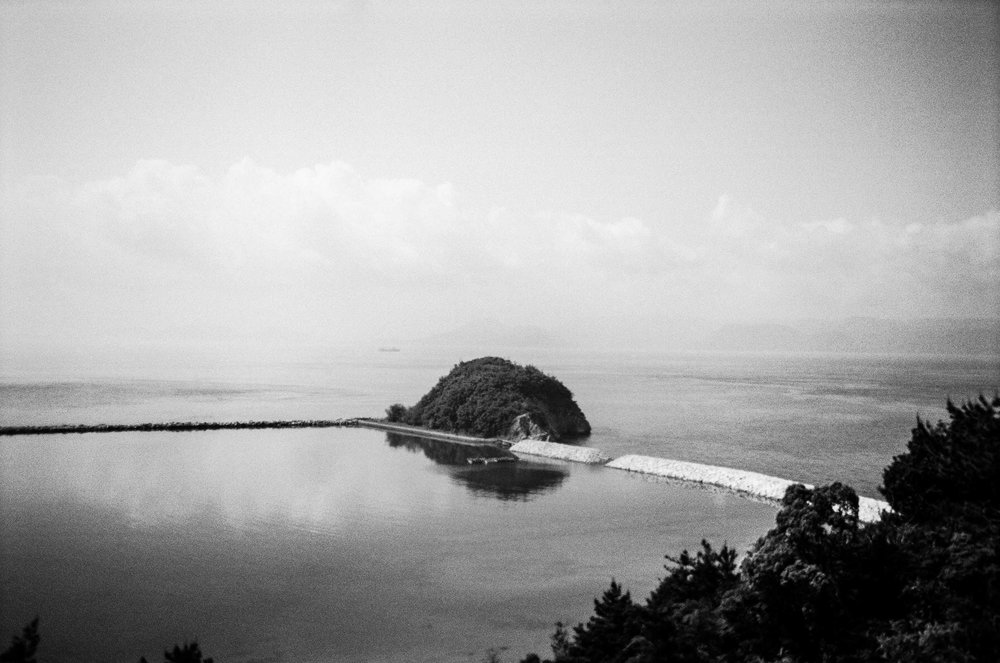 The expansive, placid Seto Inland Sea