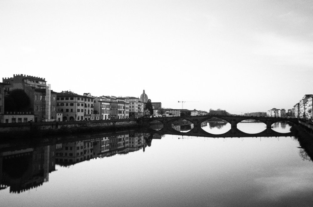 The Arno in the late spring