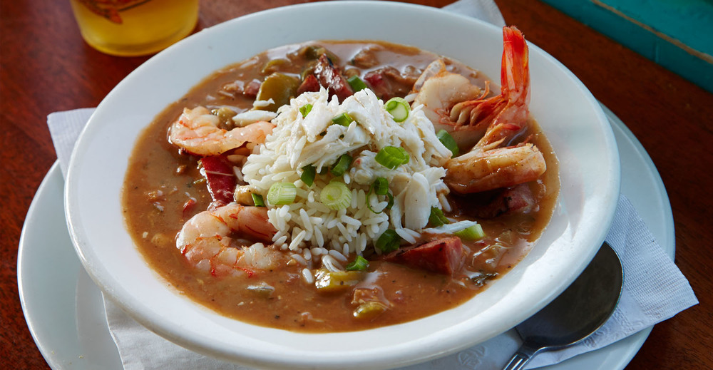 Award-Winning Seafood Gumbo