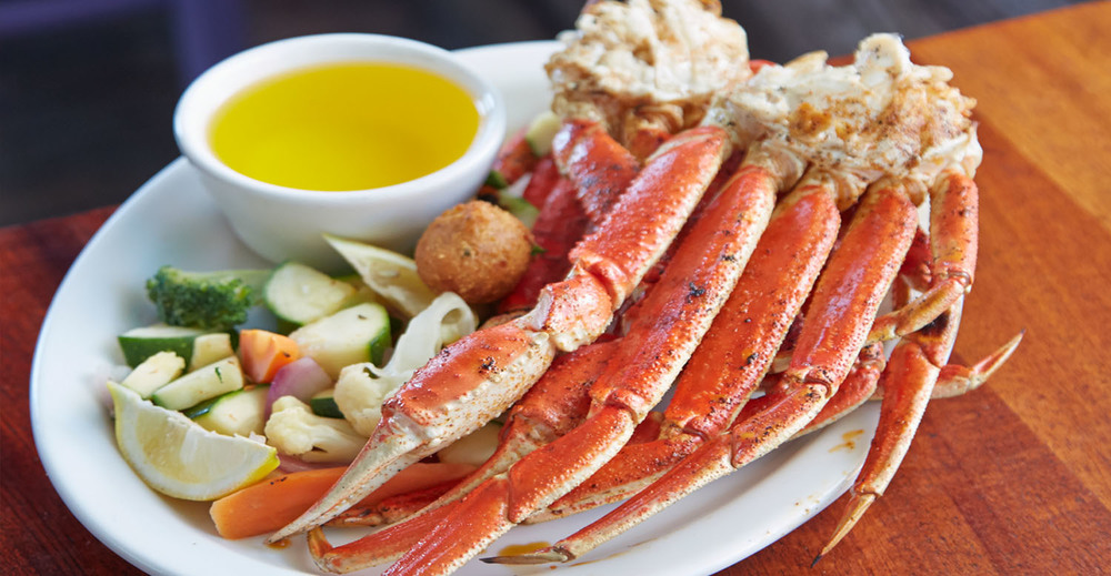 Chargrilled Snow Crab