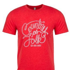 Country As Folk Tri-Blend Shirt
