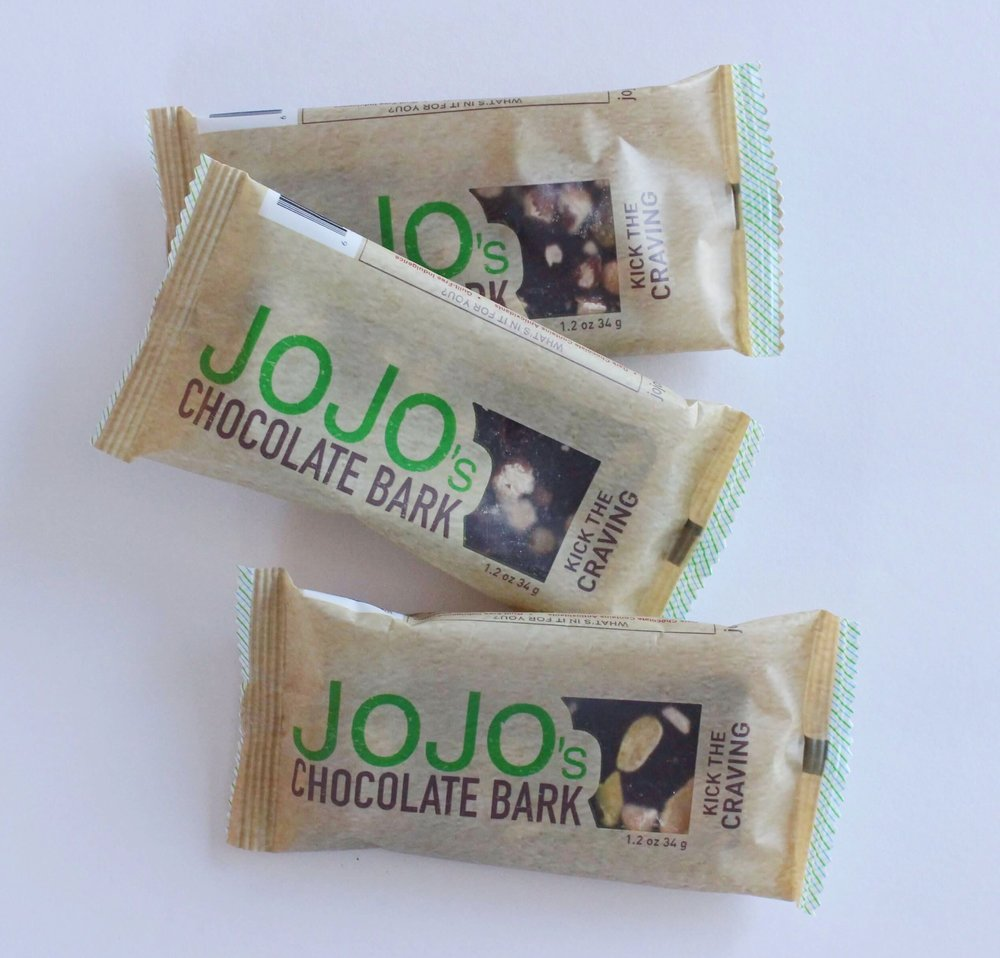 Jo Jo's chocolate bars