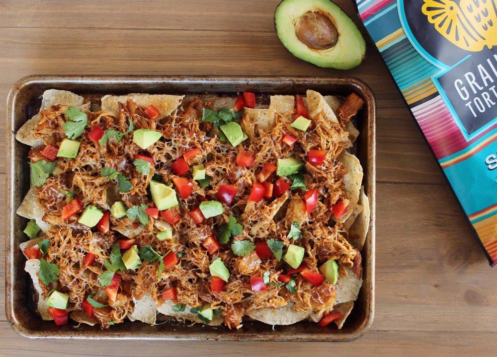 hawaiian chicken nachos