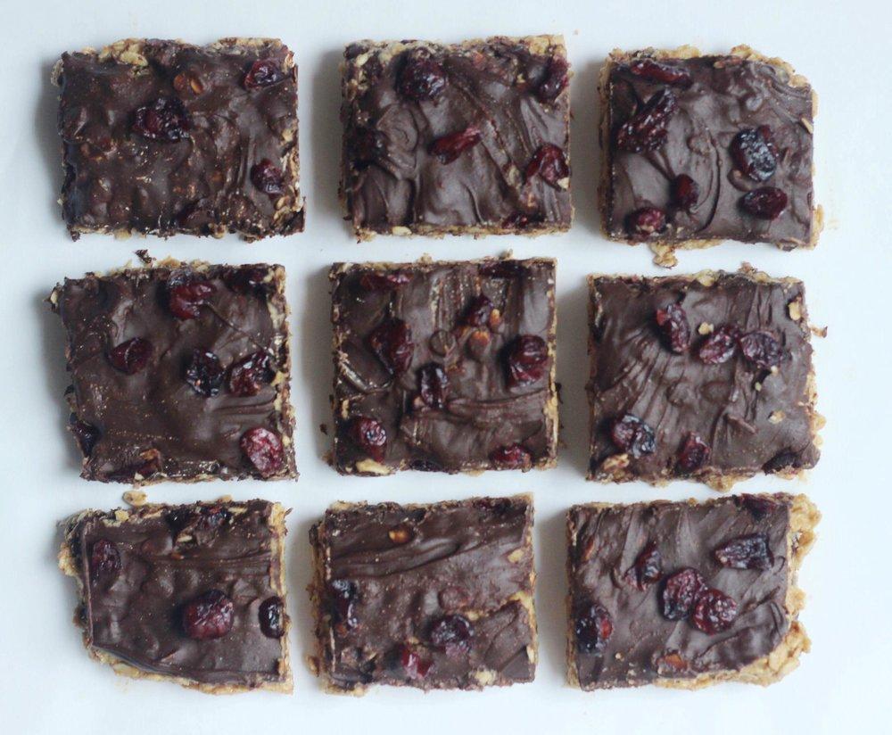 gluten free healthy dessert bars