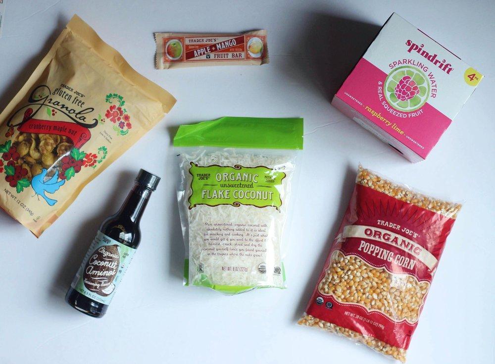 healthy food option at trader joes