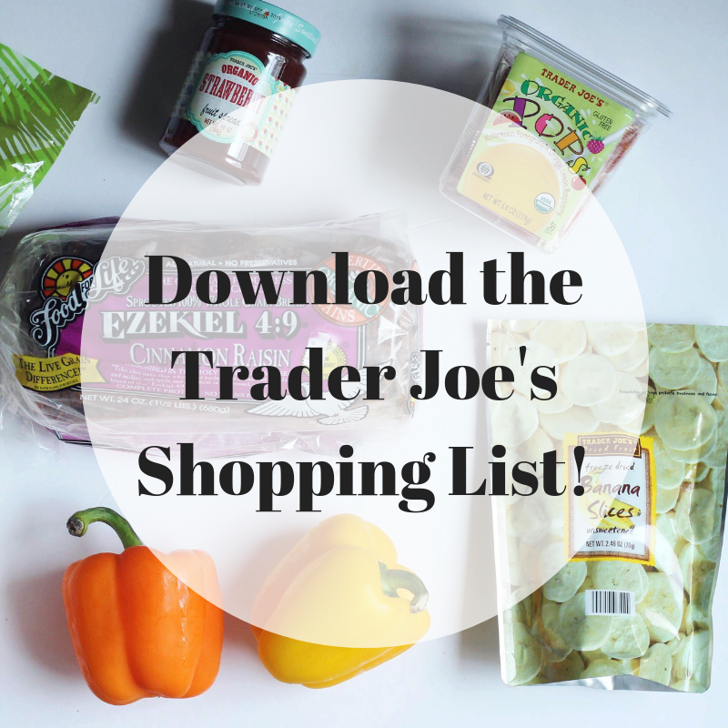Download Trader Joe's Shopping List
