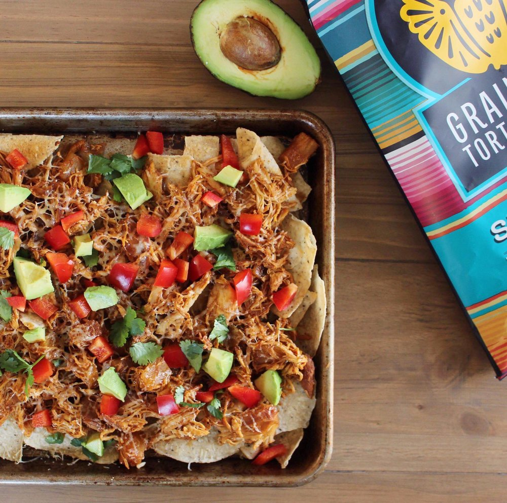 healthy hawaiian chicken nachos