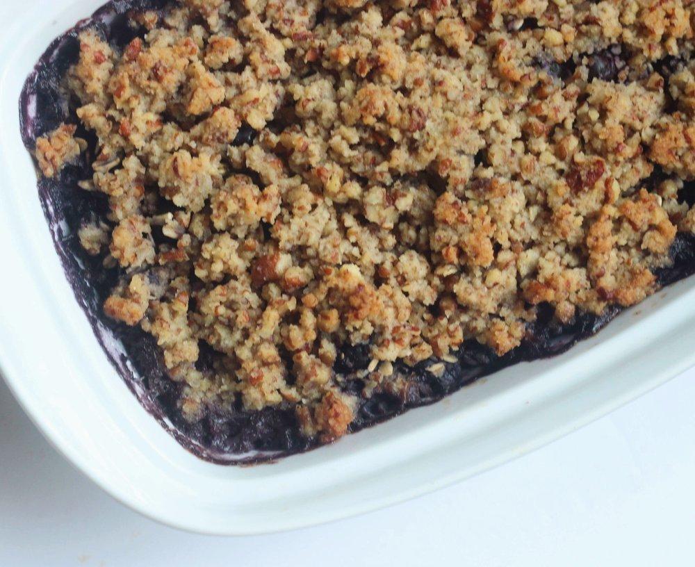 blueberry baked oatmea
