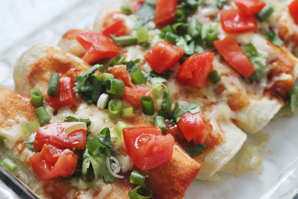 healthy enchiladas