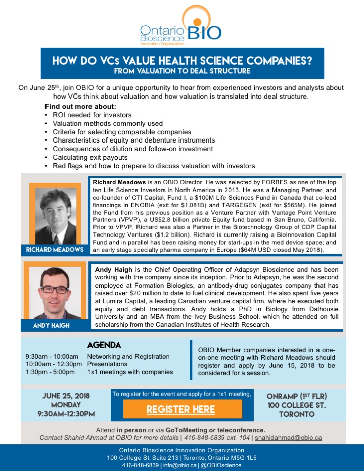 How Do VCs Value Health Science Companies - OBIO event - June 25, 2018.png