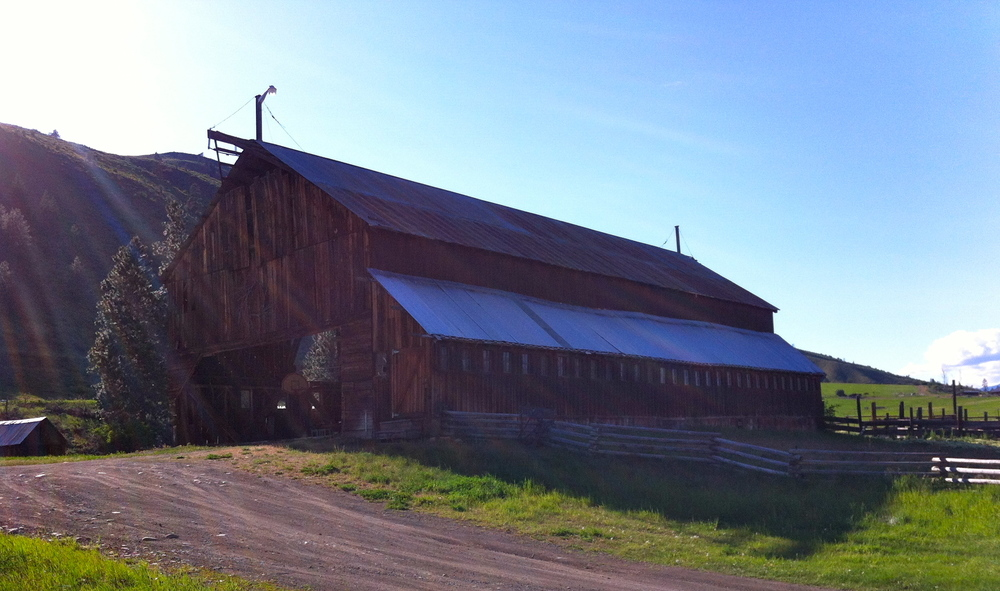 "Built in 1930 as a ""modern dairy plant"", our barn is listed on the Heritage Barn Register.  Restoration efforts are underway, with grant support from WA State and DAHP."